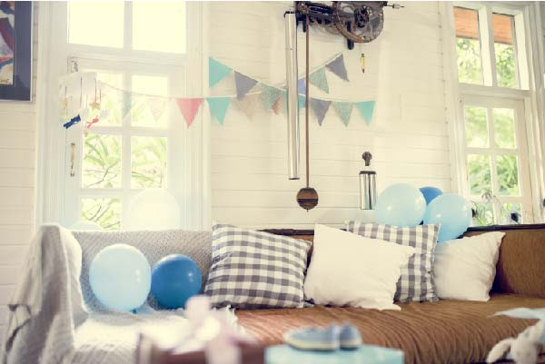 free baby shower for military families